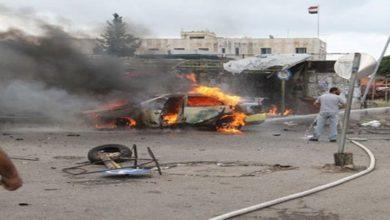 شام کے شہر خان شیخون میں کار بم حملہ ناکام