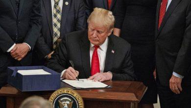 امریکی صدر کا ہانگ کانگ میں مظاہرین کی حمایت میں بل پر دستخط
