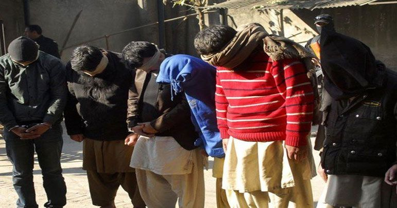 گوجرانوالہ میں سی ٹی ڈی کی کارروائی، 5 تکفیری دہشتگرد گرفتار