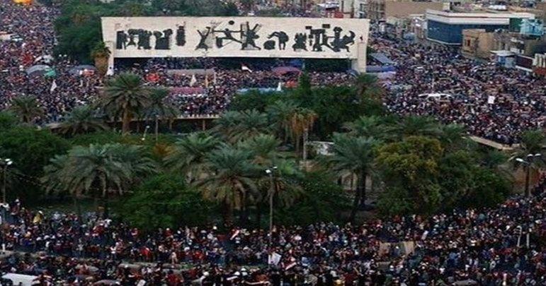عراق،لاکھوں لوگ آیت اللہ سیستانی کی حمایت میں سٹرکوں پر آگئے
