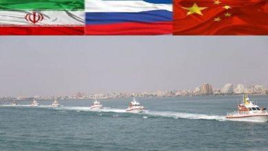 بحر ہند میں ایران، روس اور چین کی مشترکہ بحری مشقوں کا آغاز