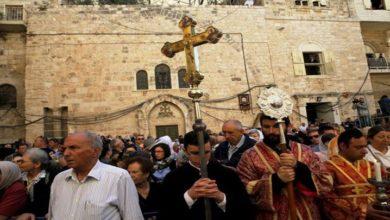 کرسمس پر اسرائیل نے عیسائیوں سے مذہبی آزادی بھی چھین لی