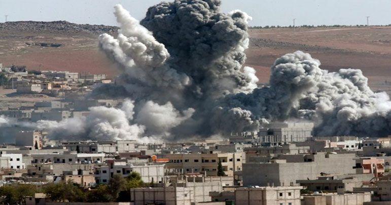 سعودی عرب کے لڑاکا طیاروں کی صعدہ کے مختلف علاقوں پر بمباری