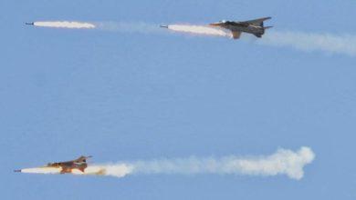 شامی اور روسی افواج کے حملوں میں درجنوں داعشی دہشت گرد ہلاک