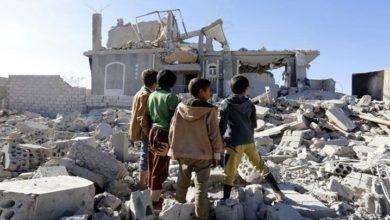 یمن کی شہری آبادی پر سعودی اتحاد کے وسیع فضائی حملے