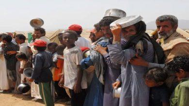سعودی جارحیت کے نتیجے میں 4 لاکھ یمنی شہری بے گھر ہوگئے۔ یو این