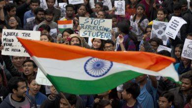 بھارت میں شہریت ترمیمی بل اور طلباء پر تشدد کے خلاف مظاہرے