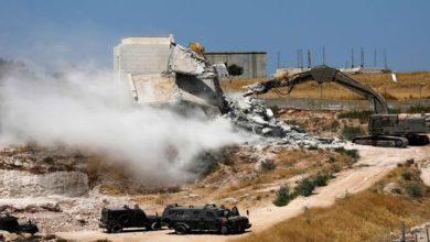 اسرائیلی بلدیہ نے فلسطینیوں کے چار مکانات مسمار کر دئیے
