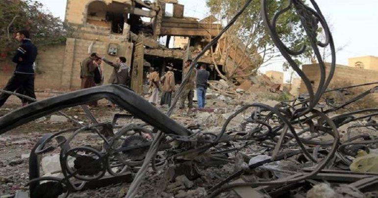 یمن کے شہر الدریھمی پر سعودی اتحاد کا راکٹوں سے حملہ