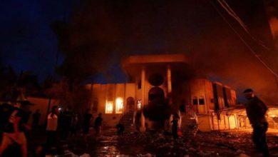 بغداد کے امریکی سفارت خانے پر راکٹ حملے، 6 اہلکار زخمی