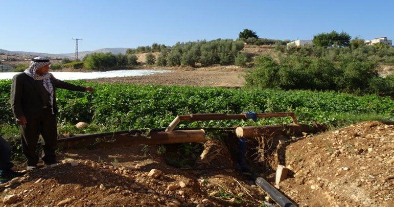 صیہونی ریاست کی آبی دہشت گردی، غزہ زیرآب، فصلیں تباہ