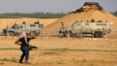 صیہونی فوج نے غزہ کی سرحد پر تین فلسطینیوں کو شہید کردیا