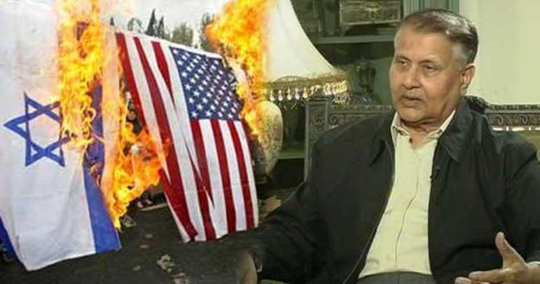 ایران امریکہ کا نشہ اتاردےگا، اسرائیل کی ٹانگیں کانپ رہی ہیں
