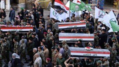 عراق: حشد شعبی کے اہلکاروں کی شہادت پر تین دن تک سوگ کا اعلان