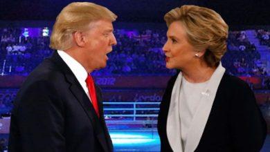 امریکی عوام ٹرمپ کو مزید صدارت کی کرسی پر دیکھ نہیں سکتے۔ ہیلری