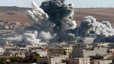 یمن کے مختلف شہروں پر سعودی جنگی طیاروں کی بمباری