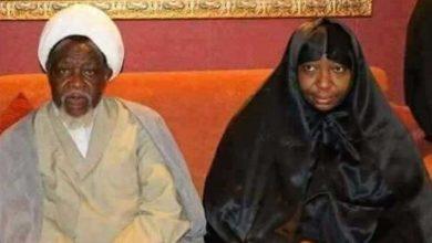 شیخ زکزاکی اور انکی اہلیہ کی جسمانی حالت خراب ہے، اہلخانہ