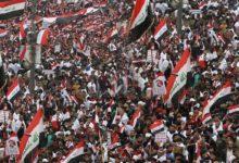 عراقی عوام کا بغداد سمیت مختلف شہروں میں امریکہ کے خلاف ملین مارچ