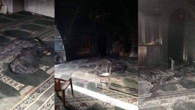 القدس میں صیہونی اشرار نے مسجد کو آگ لگا کر شہید کر دیا