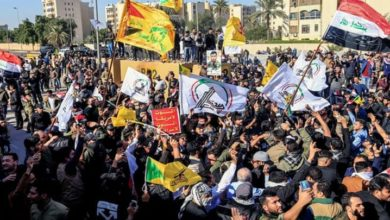 عراقی جماعتوں کا جمعہ کو امریکہ کے خلاف ملین مارچ کا اعلان