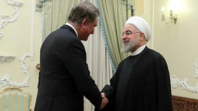 وزیر خارجہ شاہ محمود قریشی کی ایرانی صدر حسن روحانی سے ملاقات
