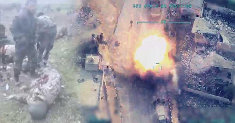 شام، دہشتگردوں کے ٹھکانوں پر حملہ 33 ترک فوجی بھی ہلاک