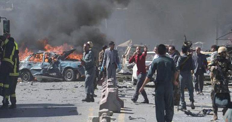 کابل میں ملٹری اکیڈمی پر خودکش حملے میں 18افراد ہلاک و زخمی