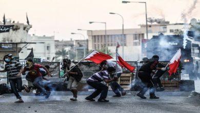 بحرین میں ہونے والے پرامن مظاہروں پر سکیورٹی فورسز کا حملہ