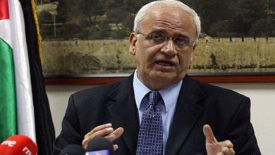 فلسطین میں تشدد کا ذمہ دار امریکی منصوبہ ہے۔ صائب عریقات