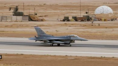 امریکہ کو حشد الشعبی کی ایف-16 جنگی طیاروں تک رسائی پر تشویش