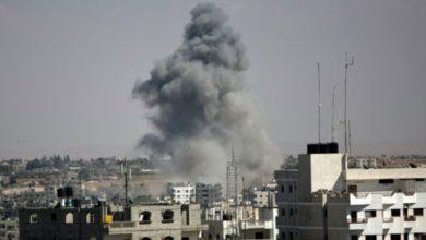 غزہ میں اسرائیلی فوج کی وحشیانہ بمباری، گیارہ فلسطینی زخمی