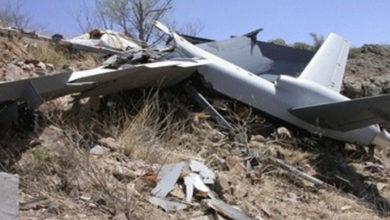 یمن کی فوج نے جارح سعودی اتحاد کا جاسوس طیارہ مار گرایا