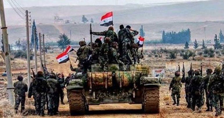 شامی فوج سراقب شہر کے دروازے پر، تکفیری دہشت گرد شہر سے فرار