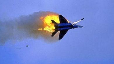 یمنی فوج نے صوبہ الجوف میں سعودی لڑاکا طیارہ مار گرایا