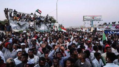 سوڈانی عوام کا متحدہ عرب امارات کے خلاف احتجاجی مظاہرہ