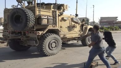 شام میں بھی امریکی فوج کے خلاف عوامی مزاحمت شروع