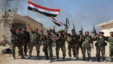 شامی فوج نے 68 علاقوں کا کنٹرول سنبھال لیا، 368 دہشتگرد ہلاک