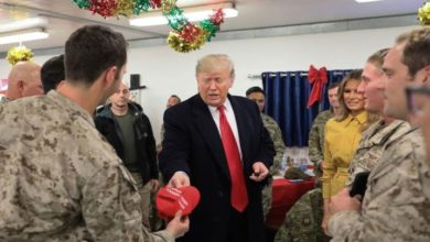 امریکہ افغانستان سے اپنی فوج واپس بلا لے گا۔ ڈونلڈ ٹرمپ