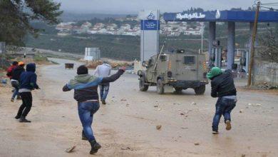 غرب اردن میں فلسطینیوں کا صیہونی فوج پر حملوں میں اضافہ