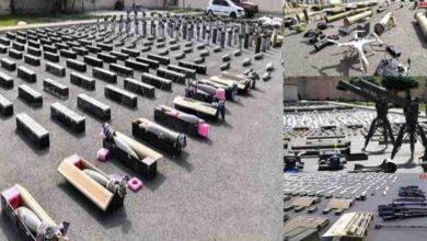 شام، داعش کے ٹھکانوں سے بڑی مقدار میں تُرک اسلحہ برآمد