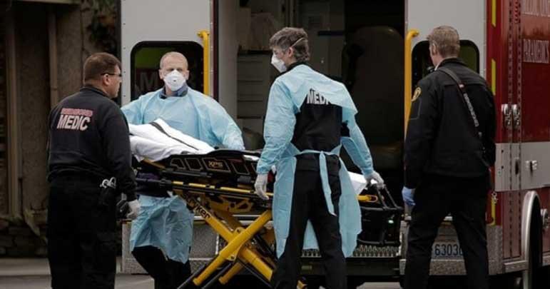 کورونا نے امریکہ میں تباہی مچادی، 100 بیمار 6 ہلاک