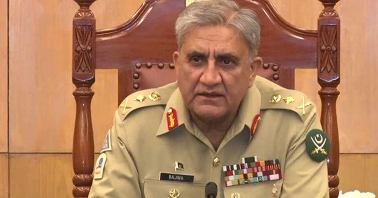 آرمی چیف کا فوج کو سول انتظامیہ کی امداد تیز کرنے کا حکم