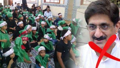 مراد علی شاہ حکومت کی نااہلی، کرونا کا ملبہ ننھے زائرین پرڈال دیا
