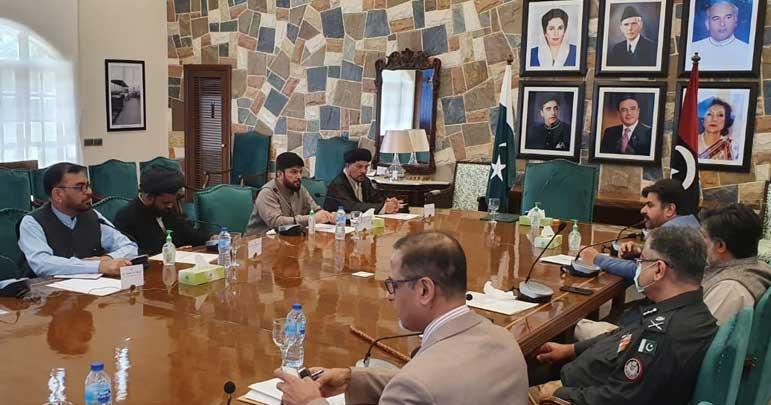 زائرین کے مسائل، مجلس وحدت کے وفد کی صوبائی وزراء سے ملاقات