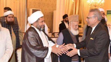 علامہ عارف واحدی کی صدرمملکت سے ملاقات، زائرین کے مسائل پر گفتگو