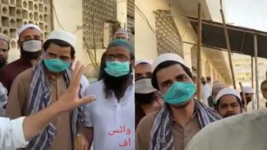 کرونا ٹیسٹ مثبت آنے پر تبلیغی جماعت کے ڈنڈا بردارکارکنوں کا ڈاکٹروں پر حملہ