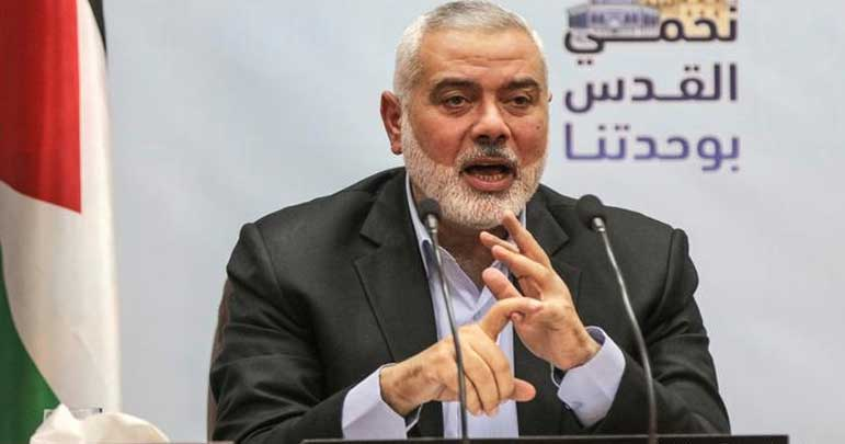 ایران نے فلسطینیوں کی ہر موقع پر مدد کی ہے، رہنما حماس اسماعیل ہانیہ