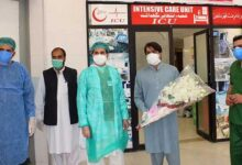 پاکستان میں کورونا وائرس سے متاثرہ 20 ہزار افراد صحت یاب ہوگئے