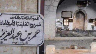 شام، داعش نے آل سعود کی ایماء پر محب اہلبیت خلیفہ عمر بن عبد العزیز کی قبر مسمار کردی