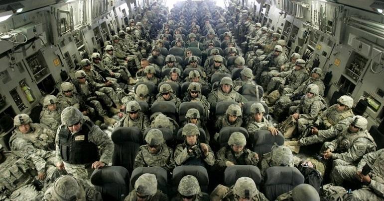 امریکی فوجی انخلاء